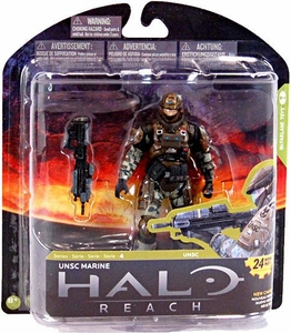 Halo Reach McFarlane Toys Series 4 Action Figure UNSC Marine