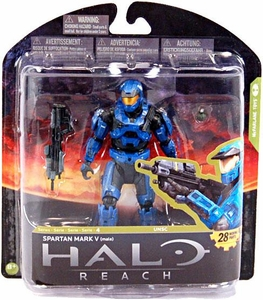 Halo Reach McFarlane Toys Series 4 Action Figure Spartan Mark V {Male}