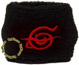 Naruto Scarred Leaf Sweatband BLOWOUT SALE!