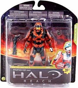 Halo Reach McFarlane Toys Series 4 Exclusive Action Figure RUST Spartan CQC {Male}