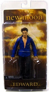 NECA Twilight New Moon Movie Series 2 Action Figure Edward Cullen [REGULAR Version]