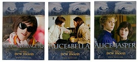 NECA Twilight Movie New Moon Chase Cards Seeing Alice Set [3 Cards]