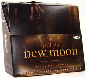 NECA Twilight New Moon Movie Trading Card Box [24 Packs]
