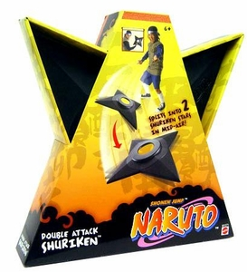 Naruto Mattel Roleplay Toy Playset Double Attack Shadow Clone Shuriken