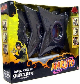 Naruto Mattel Roleplay Toy Playset Massive Mega Strike Shuriken