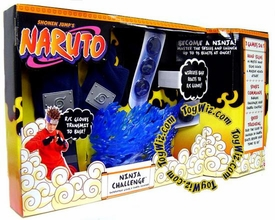 Naruto Mattel Toy Ninja Challenge Playset with Interactive Gloves & Chakra Launcher