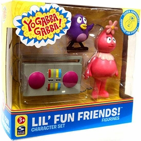 Yo Gabba Gabba Lil' Fun Friends Character Set Foofa