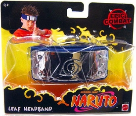 Naruto Headband Official Mattel Epic Combat Leaf Head Band