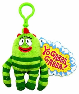 Yo Gabba Gabba Plush Clip On Brobee