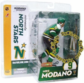 McFarlane Toys NHL Sports Picks Series 10 Action Figure Mike Modano (Minnesota North Stars) Retro Chase Piece