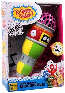 Yo Gabba Gabba Jazwares Break it Down Microphone