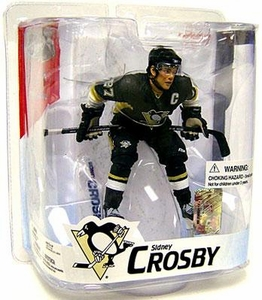 McFarlane Toys NHL Sports Picks Series 16 Action Figure Sidney Crosby (Pittsburgh Penguins) Black Jersey Variant