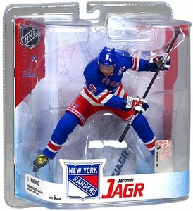 McFarlane Toys NHL Sports Picks Series 16 Action Figure Jaromir Jagr (New York Rangers) Blue Jersey