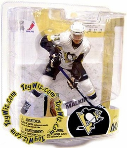 McFarlane Toys NHL Sports Picks Series 17 Action Figure Evgeni Malkin (Pittsburgh Penguins) White Jersey Variant