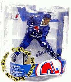 McFarlane Toys NHL Sports Picks Series 17 Action Figure Joe Sakic (Quebec Nordiques)