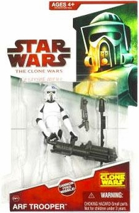 Star Wars 2009 Clone Wars Animated Action Figure CW No. 10 ARF Trooper