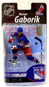 McFarlane Toys NHL Sports Picks Series 25 U.S. Exclusive Action Figure Marian Gaborik (New York Rangers) Blue Jersey