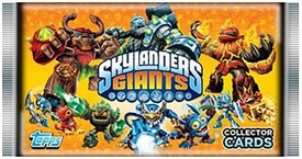 Topps Skylanders Giants Trading Card Pack