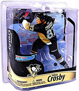 McFarlane Toys NHL Sports Picks Series 28 Action Figure Sidney Crosby (Pittsburgh Penguins) Black Jersey