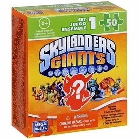 Mega Puzzles Skylanders Giants 50 Piece Mystery Puzzle Pack BLOWOUT SALE!