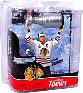 McFarlane Toys NHL Sports Picks Series 28 Action Figure Jonathan Toews (Chicago Blackhawks)
