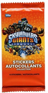 Topps Skylanders Giants Stickers Pack [6 Stickers]
