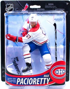 McFarlane Toys NHL Sports Picks Series 33 Action Figure Max Pacioretty (Montreal Canadiens) White Jersey Collector Level