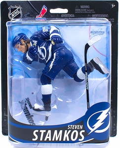 McFarlane Toys NHL Sports Picks Series 33 Action Figure Steven Stamkos (Tampa Bay Lightning) Blue Shorts