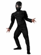 Spider-Man Costume #6617 Black Suited Spider-Man Deluxe Muscle Costume (Child 7-8)