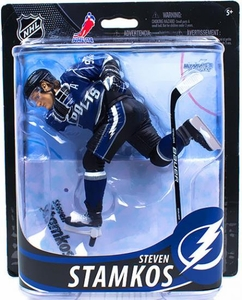 McFarlane Toys NHL Sports Picks Series 33 Action Figure Steven Stamkos (Tampa Bay Lightning) Black Shorts Collector Level Only 1,275 Made!