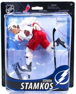 McFarlane Toys NHL Sports Picks Series 33 Action Figure Steven Stamkos (Tampa Bay Lightning) Red Shorts Collector Level Only 1,000 Made!