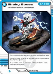 LEGO Ninjago Single Card 38/81 Shaky Bones