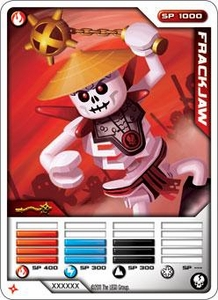 LEGO Ninjago Single Card 4/81 Frakjaw