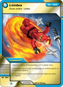 LEGO Ninjago Single Card 43/81 Limbo