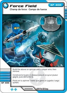 LEGO Ninjago Single Card 45/81 Force Field