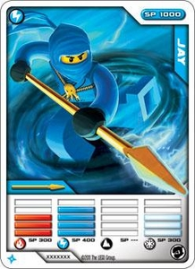 LEGO Ninjago Single Card 5/81 Jay