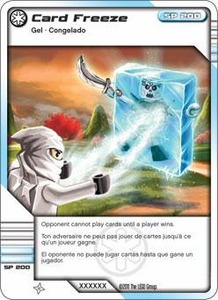 LEGO Ninjago Single Card 52/81 Card Freeze