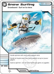 LEGO Ninjago Single Card 54/81 Snow Surfin'