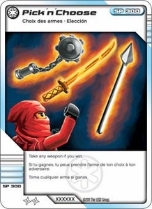 LEGO Ninjago Single Card 55/81 Pick 'n' Choose
