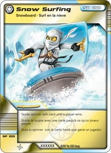 LEGO Ninjago Single Card 59/81 Snow Surfin'