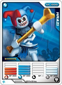 LEGO Ninjago Single Card 6/81 Krazi