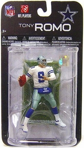 McFarlane Toys NFL 3 Inch Sports Picks Series 7 Mini Action Figure Tony Romo (Dallas Cowboys)