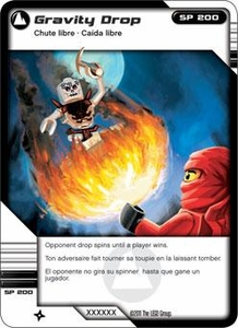 LEGO Ninjago Single Card 67/81 Gravity Drop
