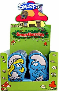 The Smurfs Candy Tin Smurfberries [Smurfette Cover Design]