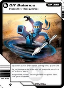 LEGO Ninjago Single Card 69/81 Off Balance