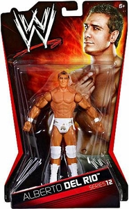 Mattel WWE Wrestling Basic Series 12 Action Figure Alberto Del Rio BLOWOUT SALE!