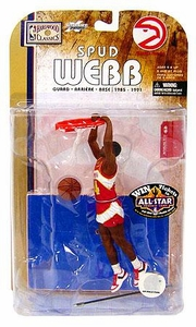 McFarlane Toys NBA Sports Picks Legends Series 4 Action Figure Spud Webb (Atlanta Hawks)