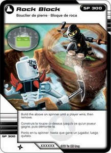 LEGO Ninjago Single Card 70/81 Rock Block
