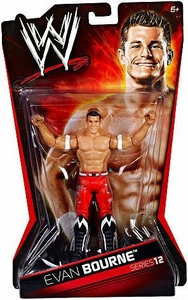 Mattel WWE Wrestling Basic Series 12 Action Figure Evan Bourne