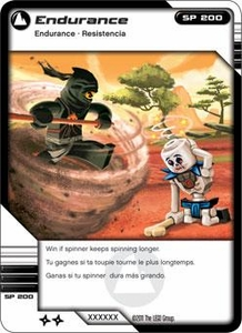 LEGO Ninjago Single Card 71/81 Endurance